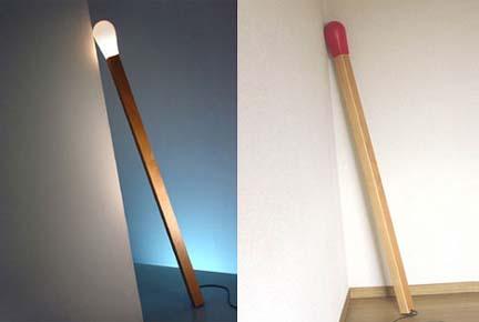 Светильник-спичка