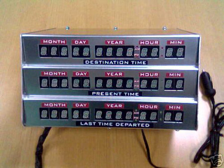 Time Circuit -- Back to the Future